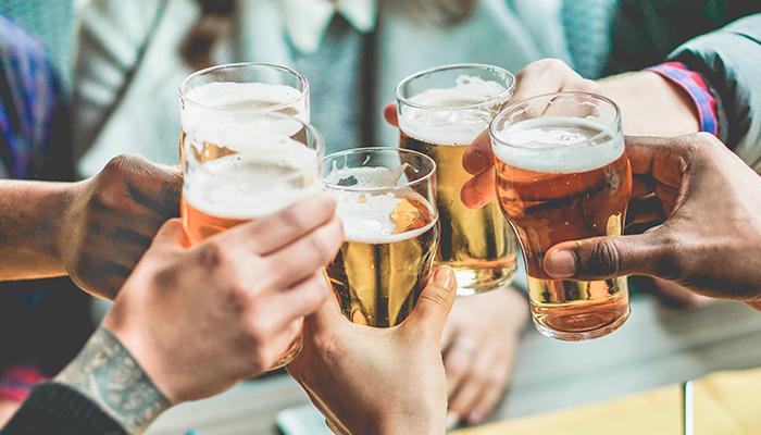 Bières en libre-service
